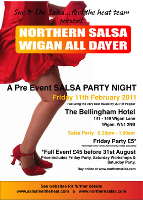Northern Salsa Wigan All Dayer